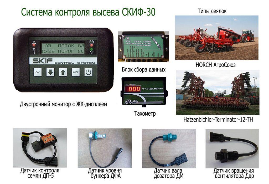 Система контроля высева «СКИФ»
