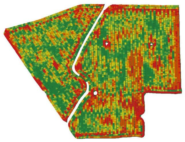 Мониторинг урожайности